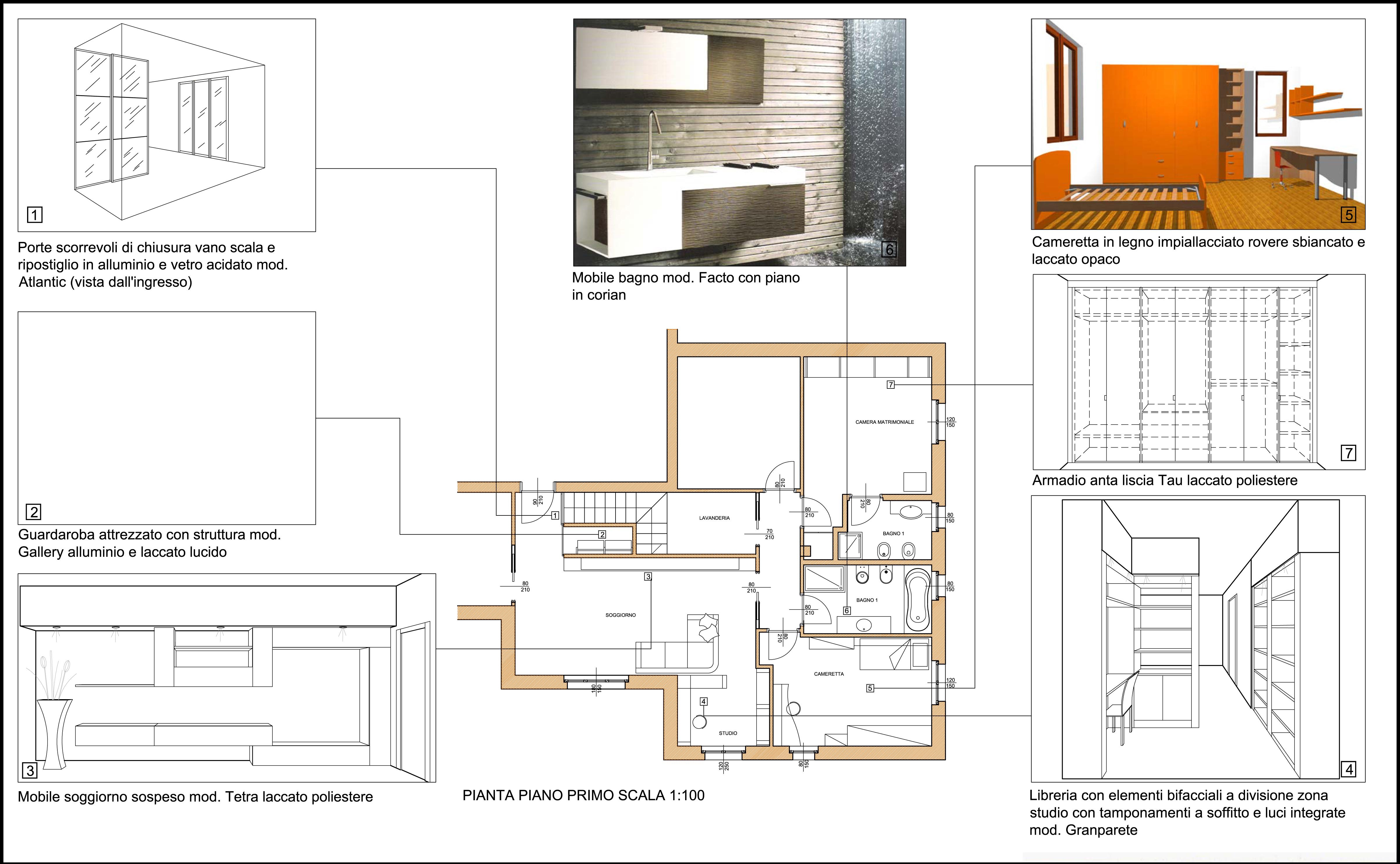 Interior design studio alber arredorelax molto pi che - Letto dwg prospetto ...